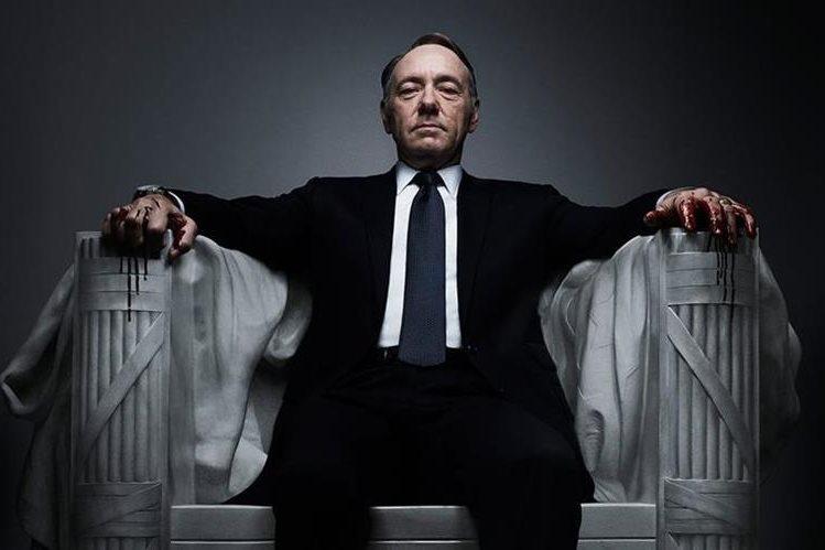 La serie House of Cards está por estrenar su cuarta temporada, en marzo. (Foto Prensa Libre: Hemeroteca PL)