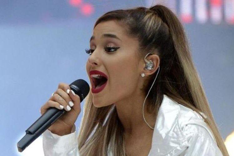 Ariana Grande dice que quiere volver a ver y apoyar a sus seguidores en Manchester. (PA)