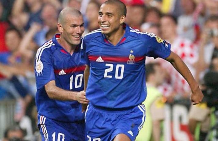 Trezeguet compartió en la selección francesa con Zinedine Zidane. (Foto Prensa Libre: Internet)