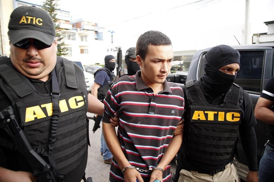 """Elvin Rápalo Orellana, señalado como """"coautor"""" del asesinato de Berta Cáceres, fue detenido el pasado 8 se septiembre. (Foto Prensa Libre: EFE)"""