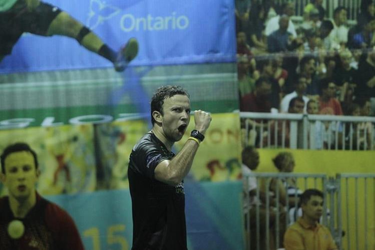 El zacapaneco Kevin Cordón jugará la final mañana ante el Brasileño de Oliveira. (Foto Prensa Libre: Hemeroteca PL)