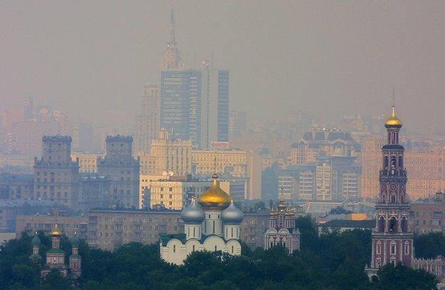 Vista de Moscú, capital de Rusia. (Foto Prensa Libre: Hemeroteca PL).