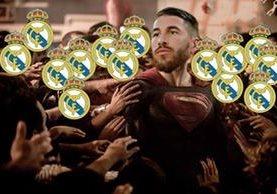 Los aficionados del Real Madrid tienen mucho qué agradecerle a Sergio Ramos. (Foto Prensa Libre: Redes Sociales)