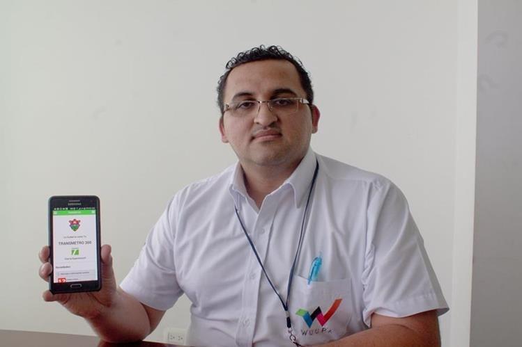 La aplicación TransMetro está disponible para plataformas Android y iOS. (Foto Prensa Libre: Josué León)