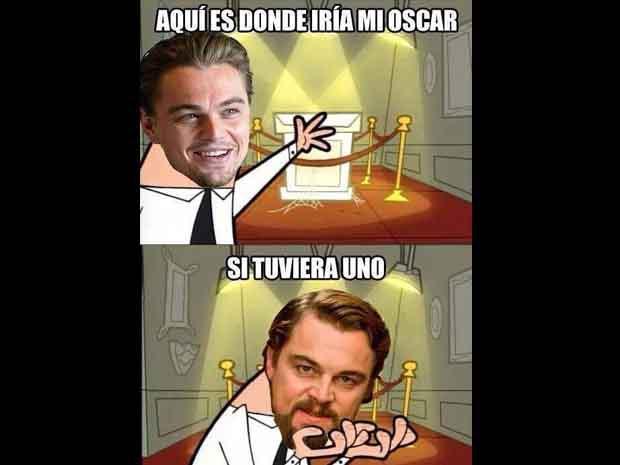 Leonardo DiCaprio sabe que no tiene el Óscar, pero tiene que alistar un espacio para colocarlo.