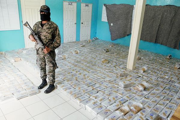 Imagen de referencia. La incautación ocurrió en Puerto Lempira. (Foto Prensa Libre: laprensa.hn)