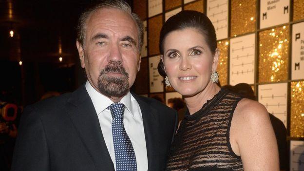 Jorge Pérez y su esposa son grandes mecenas del arte en Miami.(GETTY IMAGES)