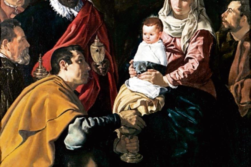 Este es  un óleo sobre lienzo del español Diego Velázquez  (1599-1660), fechado en 1619.  Se conserva en el Museo del Prado, en Madrid.  El cuadro representa la adoración de los reyes magos según la tradición cristiana.