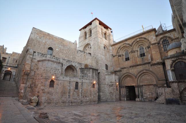El Santo Sepulcro es probablemente, el lugar más sacrato para el Cristianismo, ahí fueron sepultados lo restos de Jesucristo. (Foto: Internet).