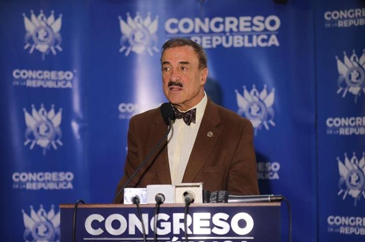 El diputado Fernando Linares-Beltranena es uno de los legisladores que apoyan las reformas a la Ley de Antejuicios. (Foto Prensa Libre: Hemeroteca PL)