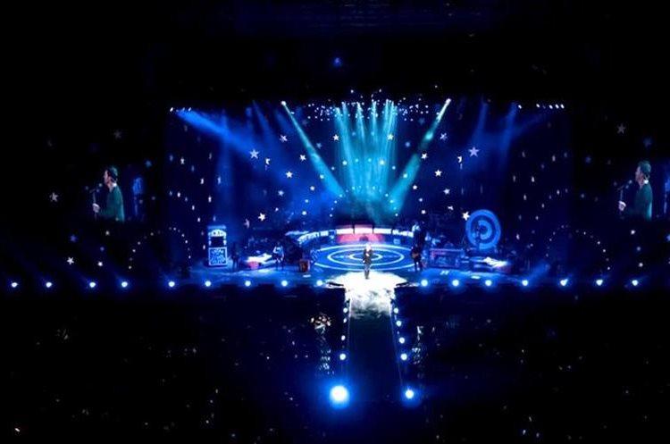 Foto aérea del concierto de Ricardo Arjona que se llevó a cabo en Cardarles de Cayalá