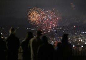 Miles de guatemaltecos observaron el show de luces Campero