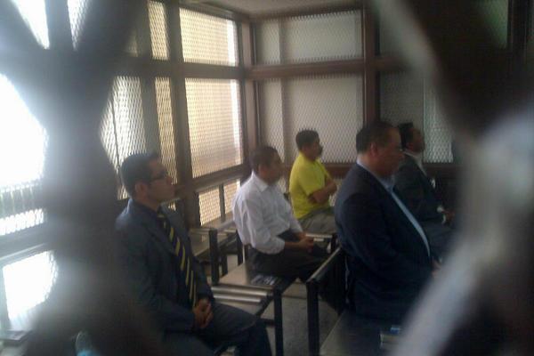 <p>Sindicados por el caso Pavón escuchan su sentencia. (Foto Prensa Libre: Jerson Ramos)</p>