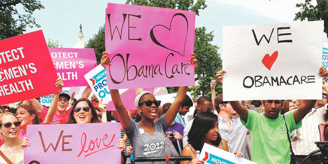 La derogación del programa de salud de Obama ha causado grandes manifestación. (Foto Prensa Libre: Foto: Hemeroteca PL)
