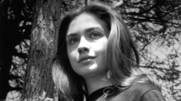 Hillary Clinton en sus tiempos de estudiante en el Wellesley College. WELLESLEY COLLEGE ARCHIVES