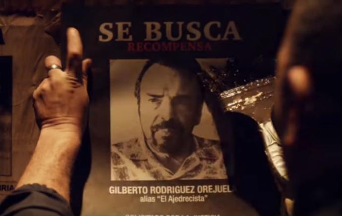 """""""Narcos"""" continuará contando el negocio de la droga en Colombia, ahora con Gilberto Rodríguez Orejuela como líder del cartel de Cali. (Foto Prensa Libre: YouTube)"""