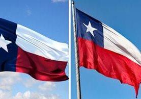 Confusión entre las banderas de Texas y Chile. THINKSTOCK