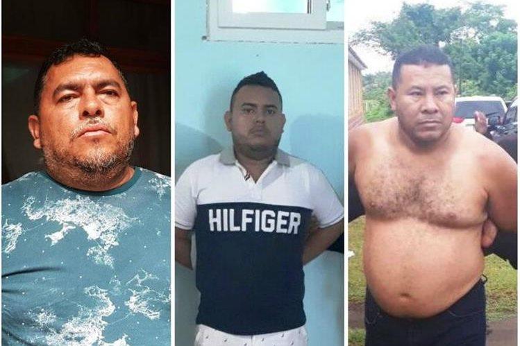 Tres supuestos narcotraficantes reclamados por Estados Unidos son capturados en Puerto Iztapa, Escuintla. (Foto Prensa Libre: MP)