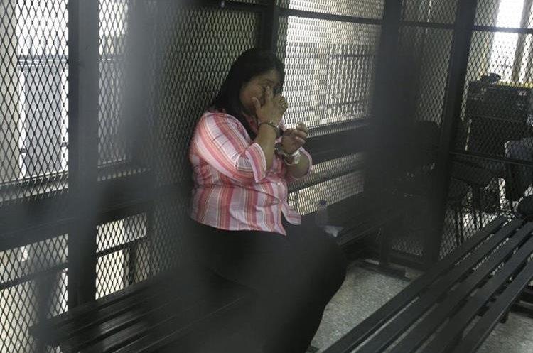 Zonia Elizabeth Lemus Vásquez fue condenada a 40 años de cárcel. Foto Prensa Libre: Carlos Hernández.