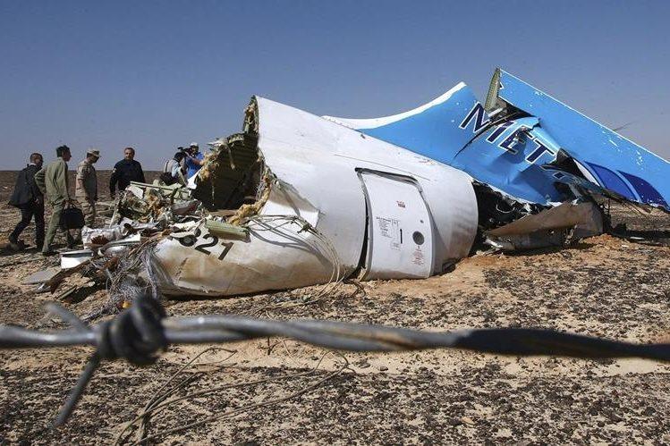 El avión ruso fue derribado el 31 de octubre del 2015 con 224 personas a bordo en la península del Sinaí. (Foto Hemeroteca PL).