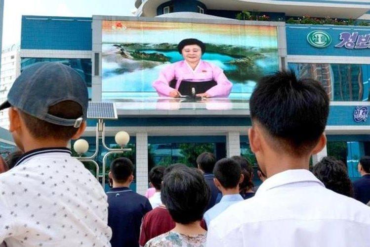 """Corea del Norte dijo, por sus medios de comunicación oficiales, que la prueba nuclear fue """"un éxito perfecto"""". (Foto, Prensa Libre: BBC)."""