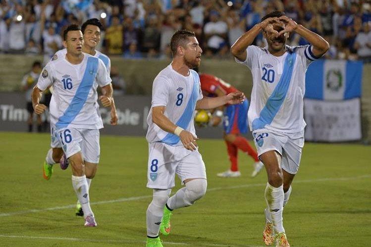 La selección de Guatemala tuvo una descatada participación en la Uncaf del 2014, en la que terminó en segundo lugar. (Foto Prensa Libre: Hemeroteca PL)