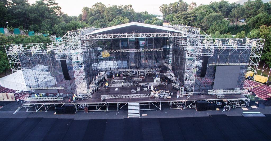 Metallica contará con escenario de lujo para el concierto en Guatemala. (Foto Prensa Libre: Cortesía SD Concerts Guatemala)