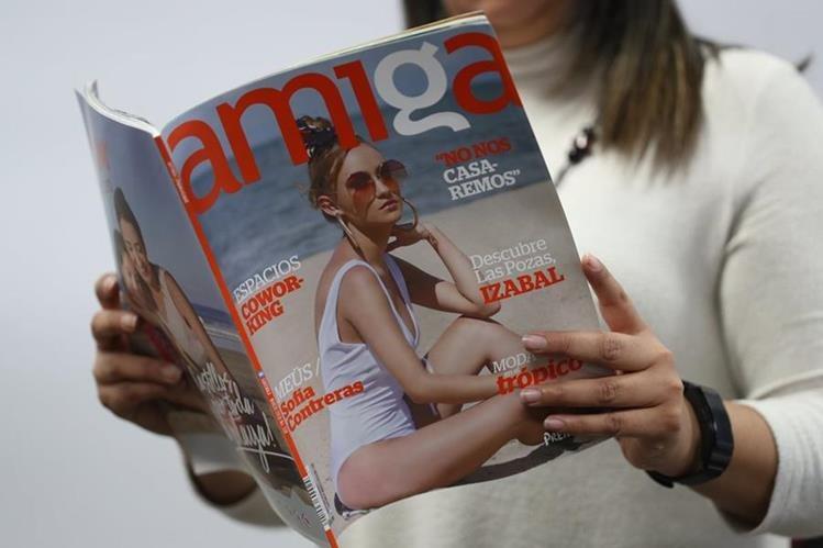 Revista Amiga presenta una imagen renovada, que las lectoras podrán apreciar en la edición de marzo, que sale este miércoles. (Fotos Prensa Libre: Esbin García)