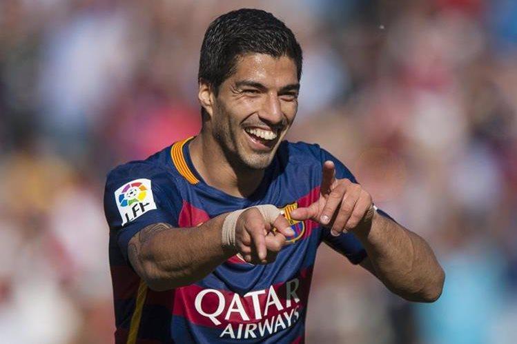Suárez rompió todos los récords de goles en La Liga española. (Foto Prensa Libre: AP)