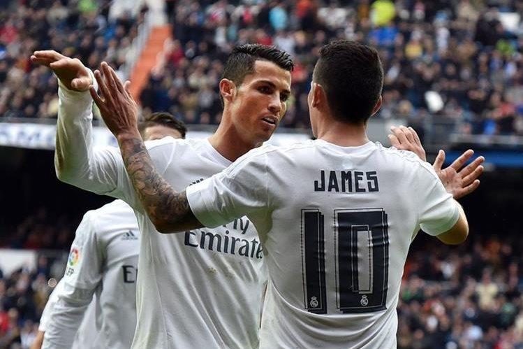 El portugués Cristiano Ronaldo marcó un doblete en el triunfo del Real Madrid 4-2 sobre el Athletic de Bilbao. (Foto Prensa Libre: AFP).