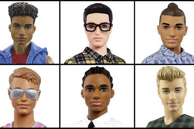 La pareja de la muñeca Barbie se moderniza 56 años después de su salida al mercado. (Prensa Libre: AP)