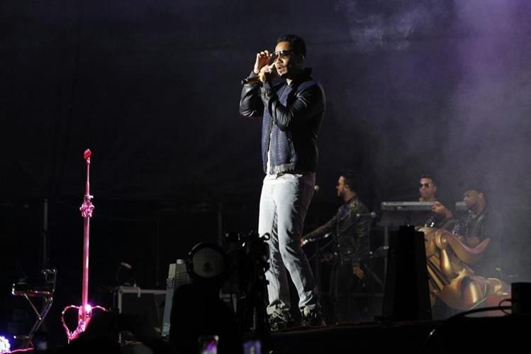 Romeo Santos visitó Guatemala como parte de su gira por Latinoamérica. (Foto: Paulo Raquec)
