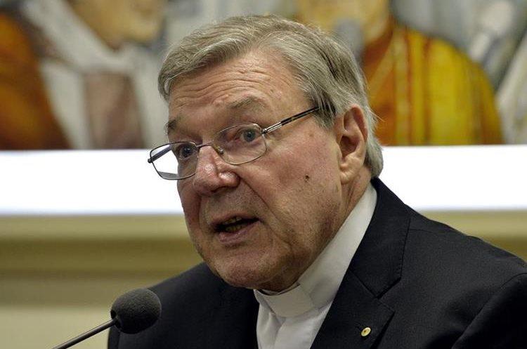 George Pell fue acusado de múltiples delitos sexuales infantiles en Australia. (AFP).