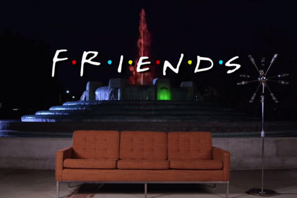 Usuarios de YouTube recrean la serie Friends. (Foto Prensa Libre: YouTube)