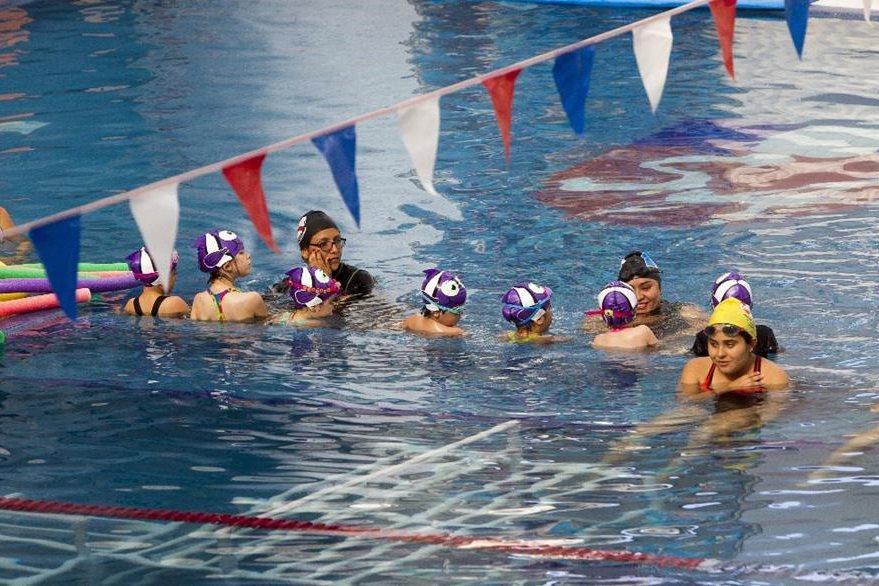 La academia  tiene como objetivo impulsar el desarrollo y formación del deporte en Guatemala. (Foto Prensa Libre: Norvin Mendoza)