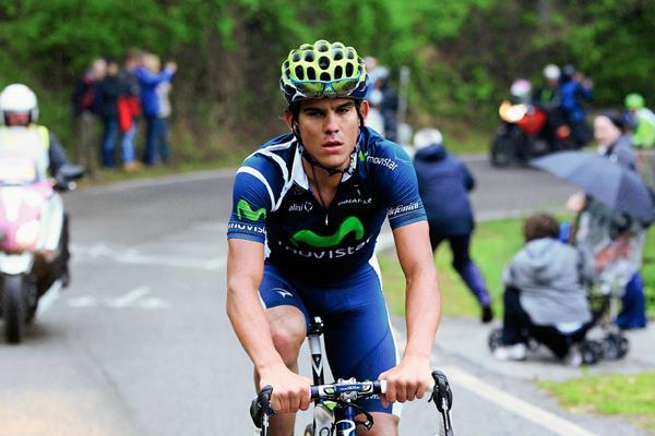 Andrey Amador de Costa Rica se encuentra dentro de los 10 primeros del Giro de Italia. El tico pasa un gran momento en el ciclismos. (Foto Prensa Libre: Cortesía Luca Bettini