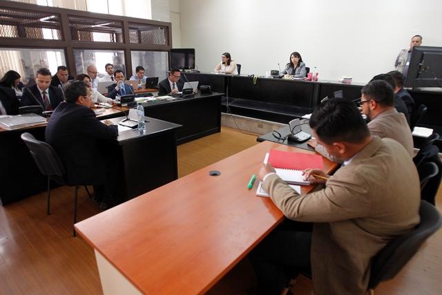 El caso Construcción y Corrupción está a cargo de la jueza Ericka Aifán del Juzgado de Mayor Riesgo D. (Foto Prensa Libre: Paulo Raquec.
