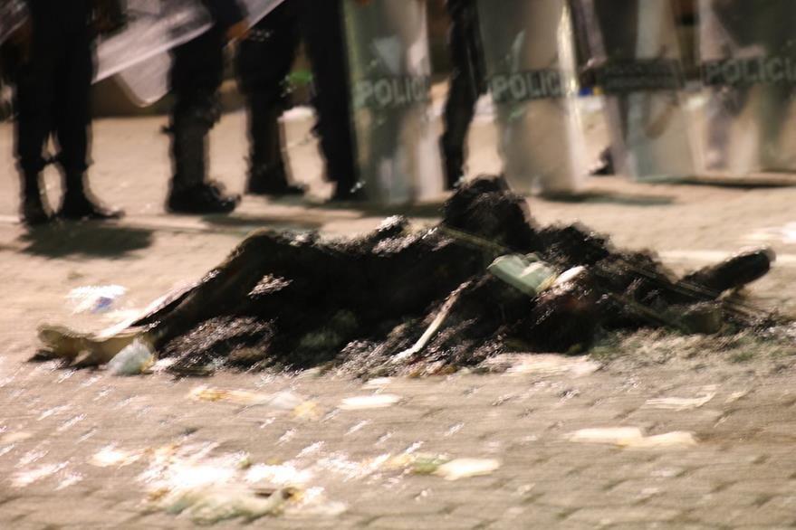 El linchamiento ocurrió el lunes en la noche en Ajalpán, un municipio ubicado a 271 km de la Ciudad de México. (Foto Prensa Libre: EFE).
