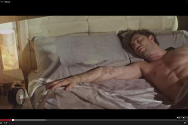 Escena del nuevo video de David Bisbal, cuyo lanzamiento es hoy.
