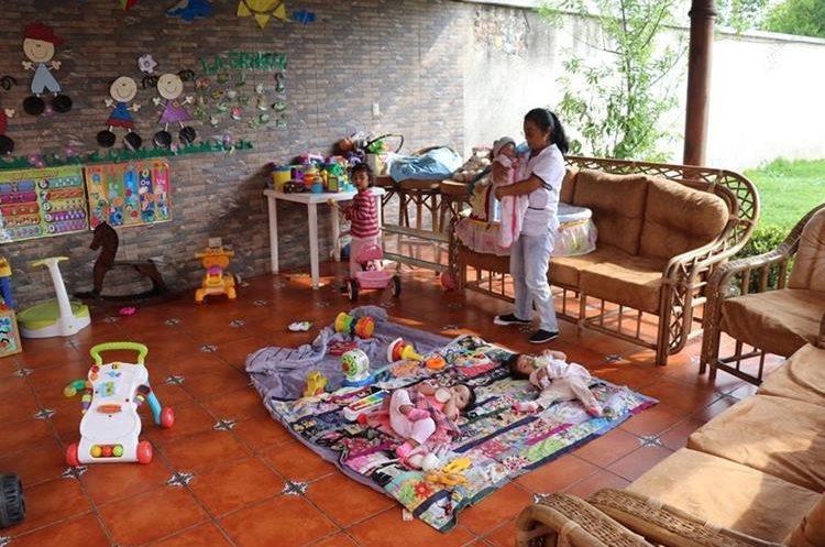El hogar Mi Casita en Antigua Guatemala alberga a menores referidos por un juzgado. (Foto Prensa Libre: Renato Melgar).