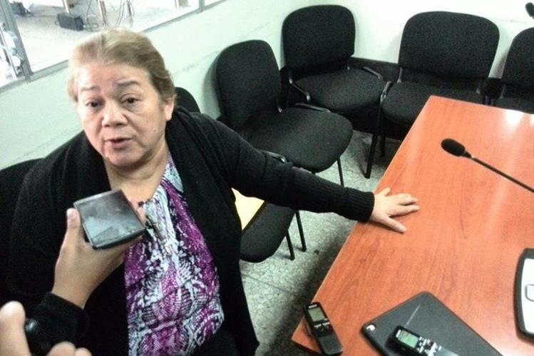 La jueza Sierra dijo que el Ministerio Público deberá probar ante la justicia que está implicada en el caso <em>La Línea.</em> (Foto Prensa Libre: Hemeroteca PL)