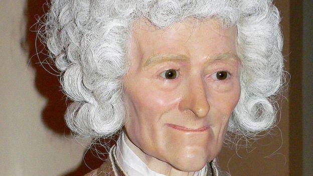 """Voltaire fue uno de los que se pusieron """"pacientemente en manos de la hermosa artista"""", dos meses antes de su muerte. CREATIVE COMMONS"""