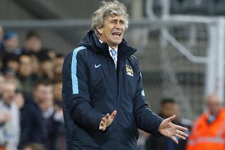 Manuel Pellegrini aseguró que van a buscar la victoria contra el Stoke City el fin de semana. (Foto Prensa Libre:EFE)