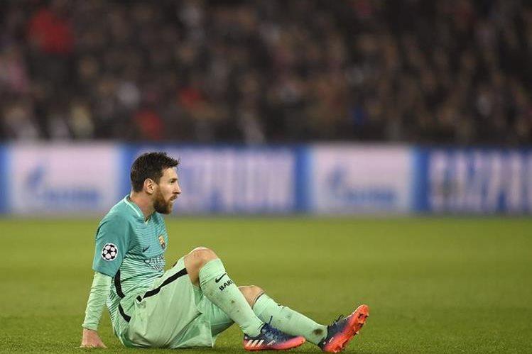 El defensa Javier Mascherano no se imagina a su compañero y compatriota Leo Messi en un equipo que no sea el Barcelona. (Foto Prensa Libre: EFE)