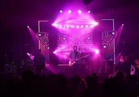 Filoxera y Kontra presentaron nuevas canciones en el Parque de la Industria.