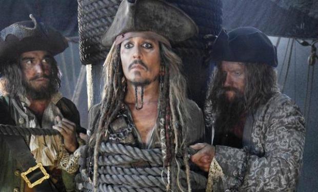 Ya se pueden ver las primeras imágenes de Los Piratas del Caribe 5. (Foto Prensa Libre: Hemeroteca PL)
