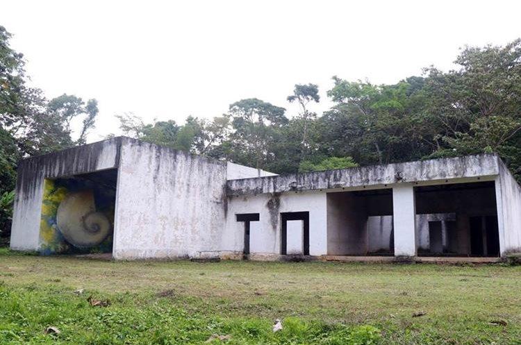 La construcción del museo comenzó en el gobierno de Álvaro Colom.( Prensa Libre: Rolando Miranda)