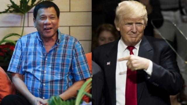 Duterte dice que Trump le deseó éxito en campaña antidroga. (Foto Prensa Libre: AFP)