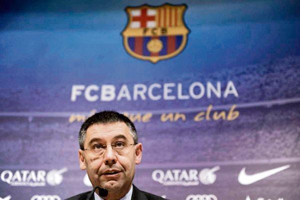 El presidente del FC Barcelona Josep María Bartomeu, incluyó en sus declaraciones al fallecido Tito Vilanova. (Foto Prensa Libre: Hemeroteca PL).