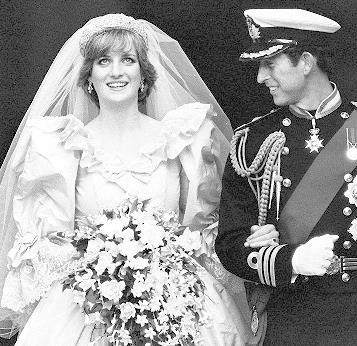 Carlos y Diana el día de su boda en 1981. (Foto: AP)